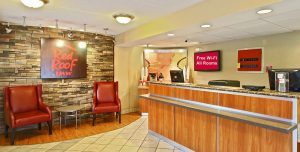 Image that resembles the presentable reception area of a professional workplace